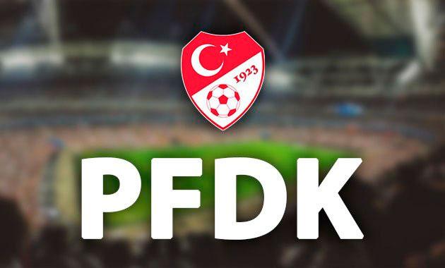 6 Süper Lig kulübü PFDK'ya sevk edildi