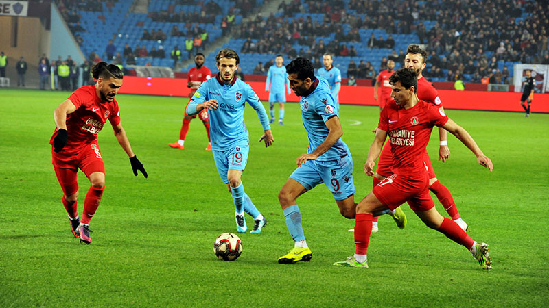 Trabzonspor kupada tutukluk yaptı