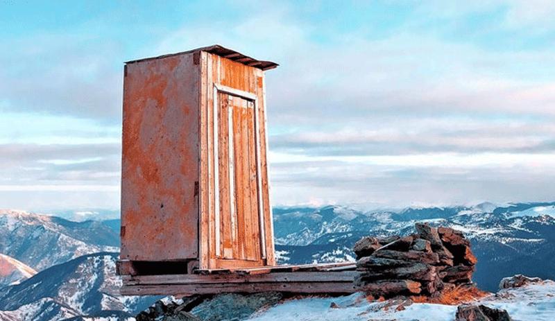 'Dünyanın en yalnız tuvaleti' Rusya'da