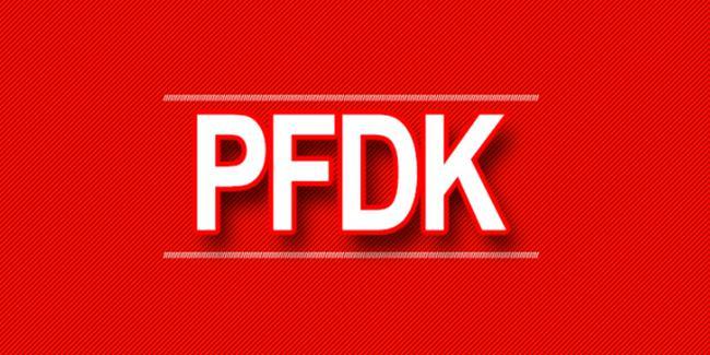 PFDK'dan Adem Büyük ve Adis Jahovic'e 2'şer maç ceza