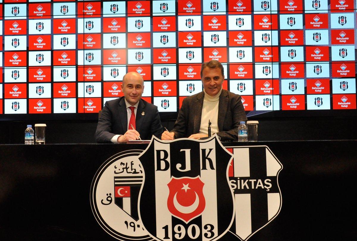 Beşiktaş'ın yeni sponsoru belli oldu