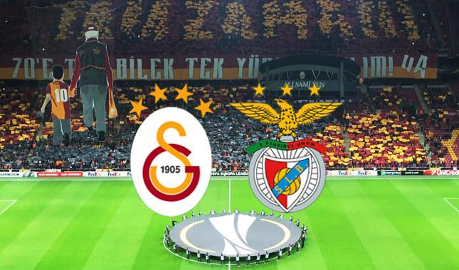 Benfica – Galatasaray maçının ilk 11'leri belli oldu