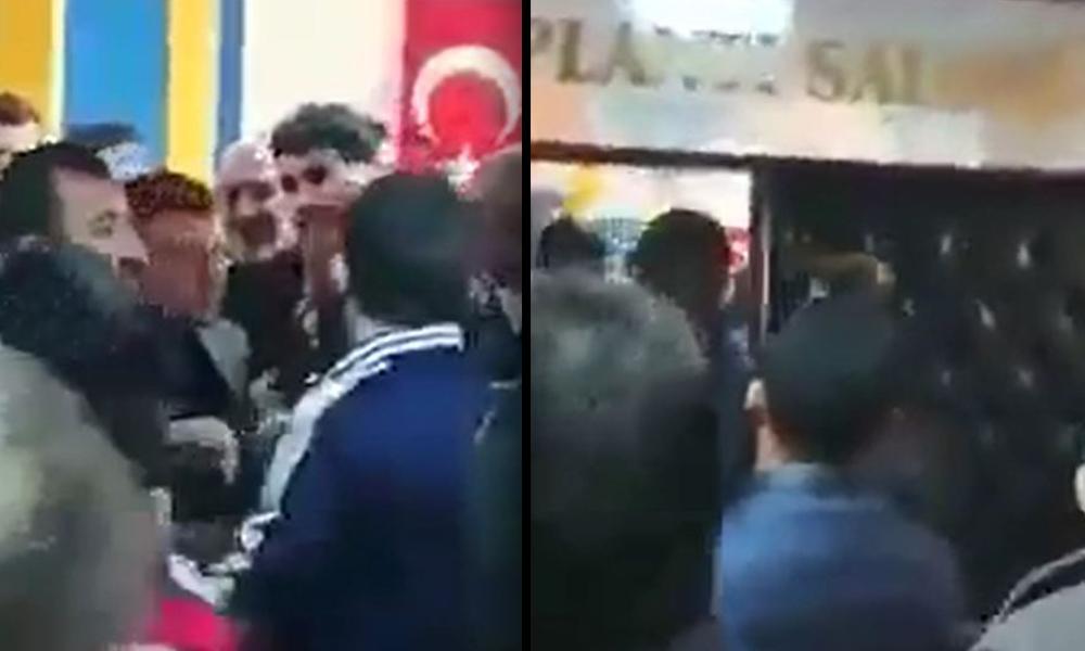 Yeniden aday gösterilmeyen AKP'li, il binasını bastı