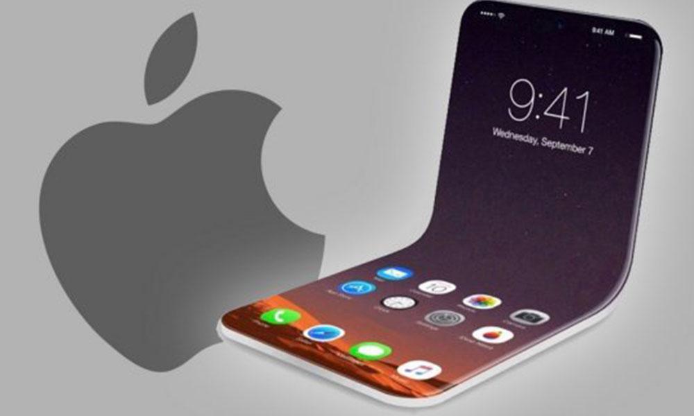 Apple'ın katlanabilir telefonunundan ilk görüntü