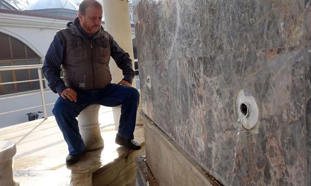 Düzce'de camilerde musluk bırakmadılar: Bir gecede 100 musluk çalındı