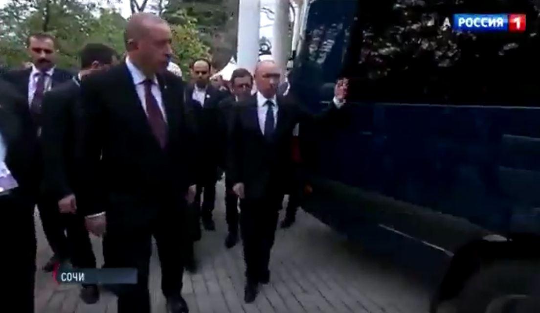 Erdoğan'ın 'araç zırhlı mı?' sorusuna Putin'den güldüren yanıt