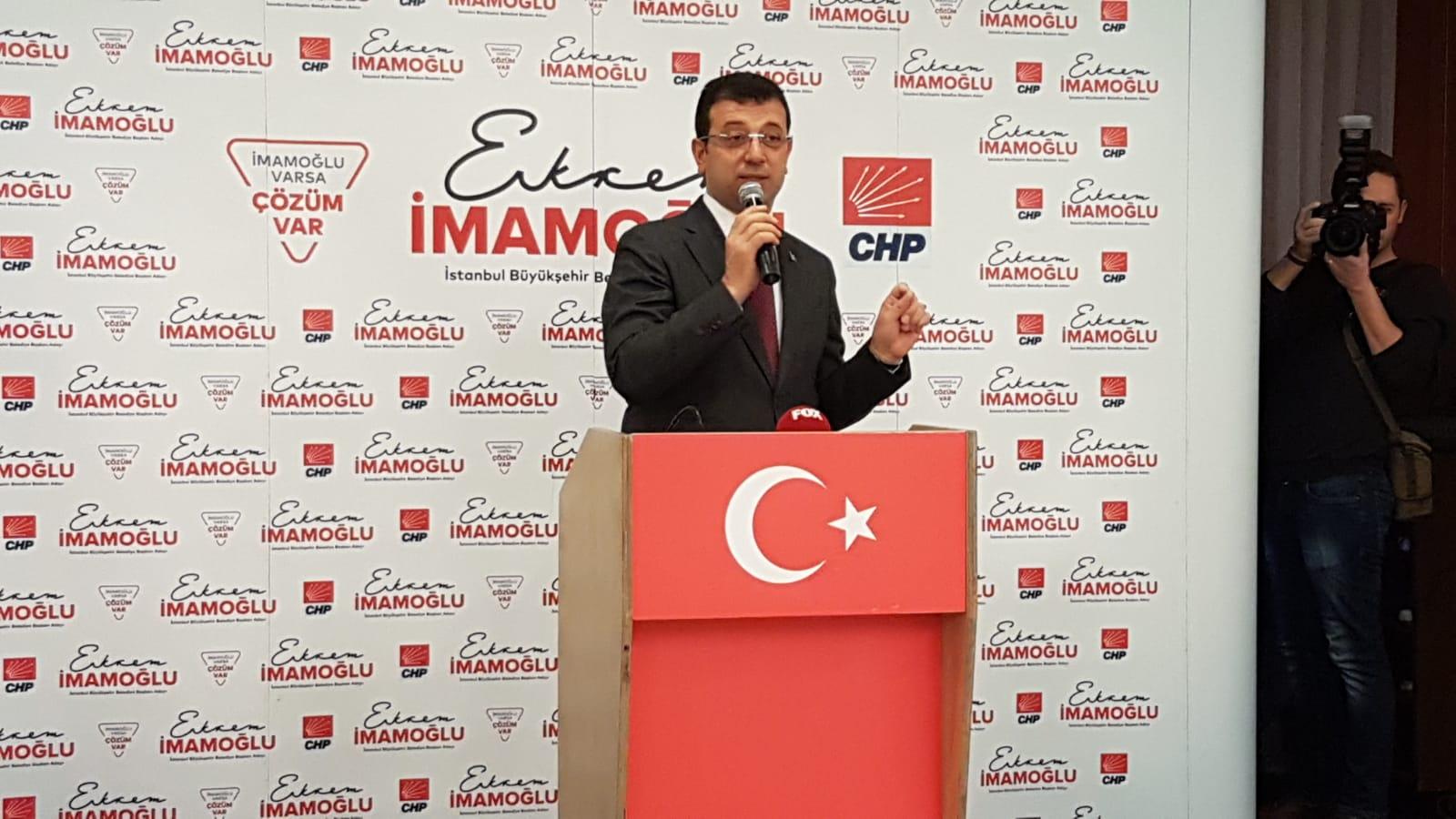 'Bu bir suç duyurusudur' diyen Ekrem İmamoğlu: İstanbul'u hasta ettiler!