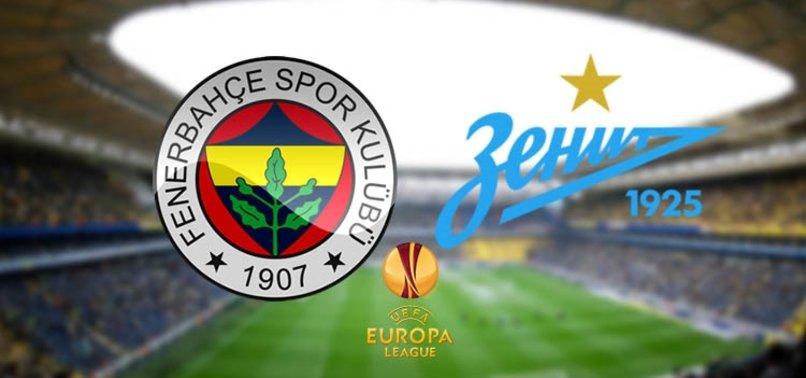 Zenit – Fenerbahçe maçından notlar