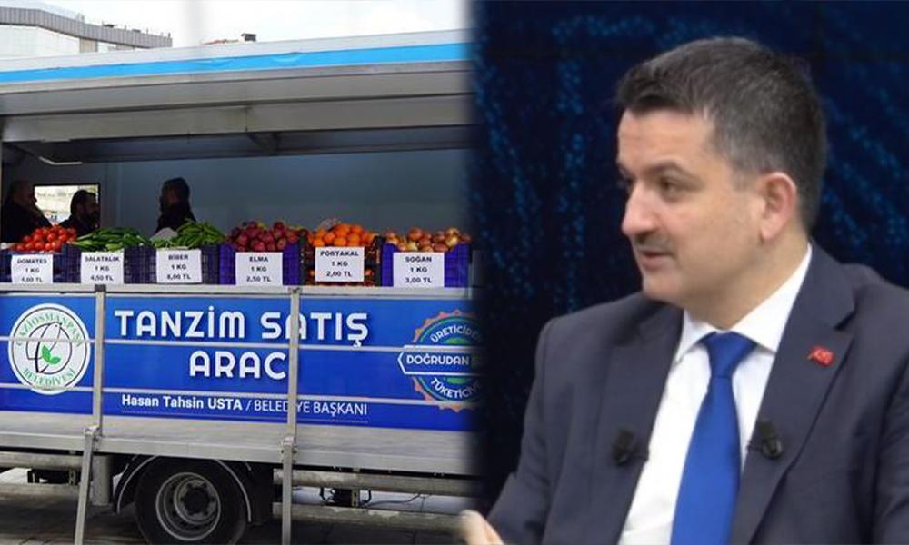 Bunu da gördük: Tanzim'de satılacak bakliyatların fiyatını bakan açıkladı
