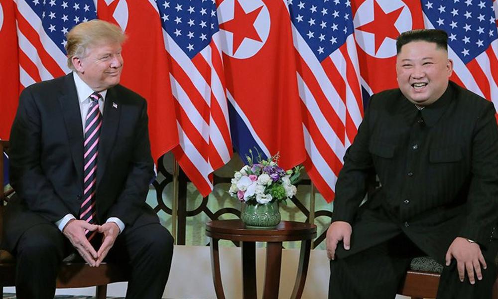 Trump, KDHC'ye ayak basan ilk ABD başkanı oldu