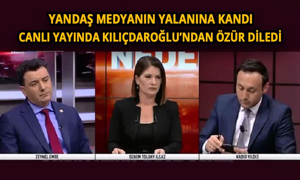 Canlı yayında Kemal Kılıçdaroğlu'ndan özür diledi!
