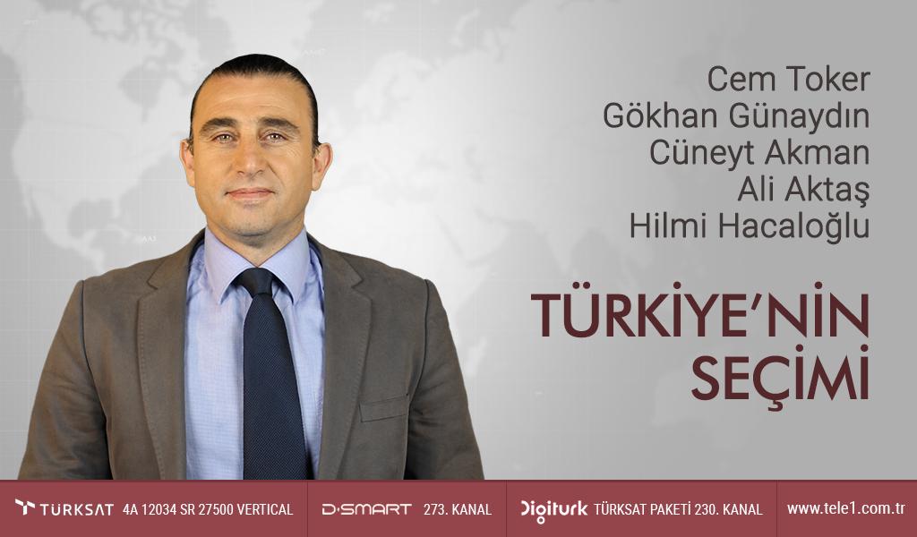 Cem Toker, Gökhan Günaydın, Cüneyt Akman ve Ali Aktaş – Türkiye'nin Seçimi