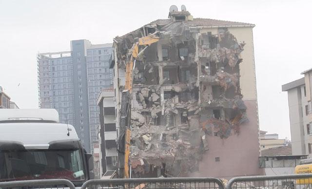 Kartal'da çöken bina soruşturmasında tahliye kararı