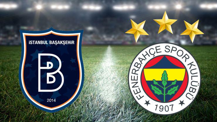 Başakşehir  Fenerbahçe maçı sona erdi
