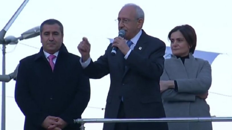 Kılıçdaroğlu'ndan Sancaktepe'de: Biz huzurun adresiyiz, kavganın değil!