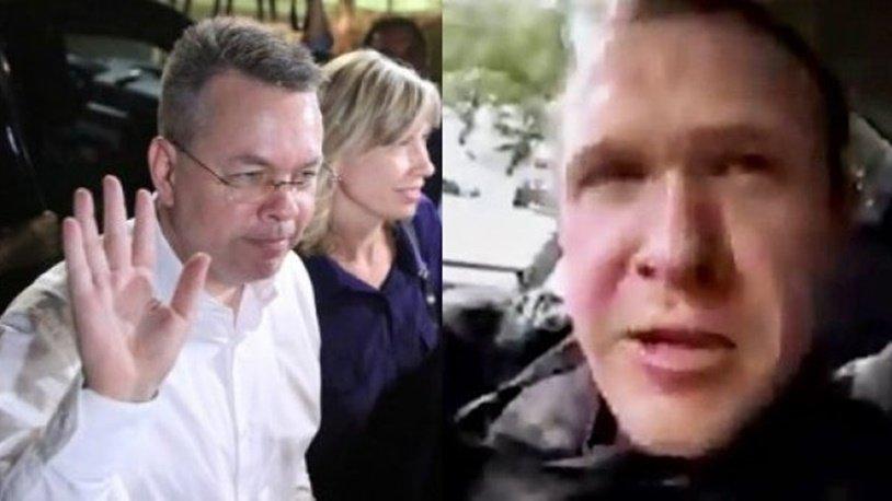 Flaş iddia… Yeni Zelanda saldırganının, Rahip Brunson ile bağlantısı mı var?