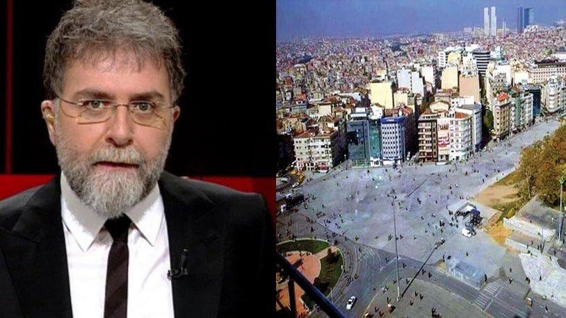 Ahmet Hakan'dan AKP'nin betona teslim ettiği Taksim Meydanı için çağrı