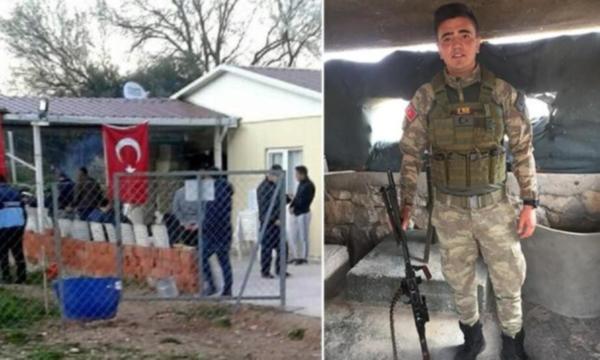 TSK: Silopi'de nöbet tutan asker silah kazası sonucu şehit oldu