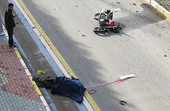 Olay yerine görevli olarak giden polis acı gerçekle karşılaştı…