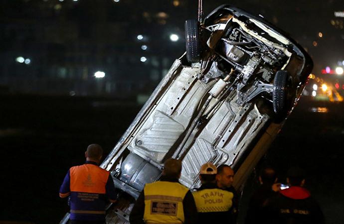 Eminönü'nde otomobil denize uçmuştu… Gerçek ortaya çıktı