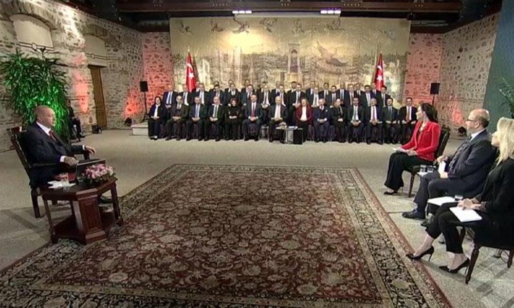 TRT'nin yayın akışında son dakikada 'Erdoğan' değişikliği