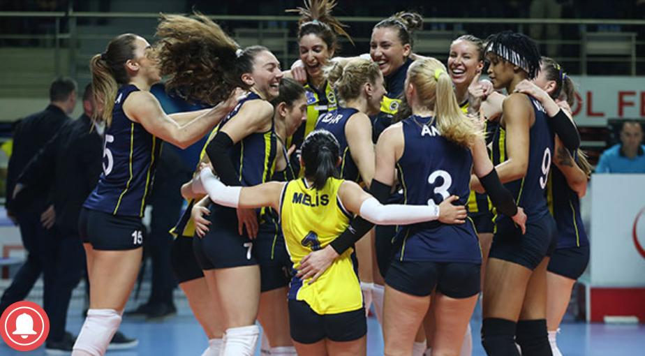 Fenerbahçe Opet Şampiyonlar liginde yarı finalde