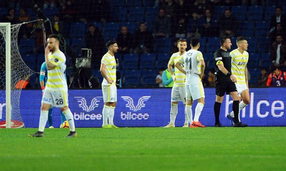 Fenerbahçe'de Başakşehir yenilgisinin nedeni: Klima çarpmış!