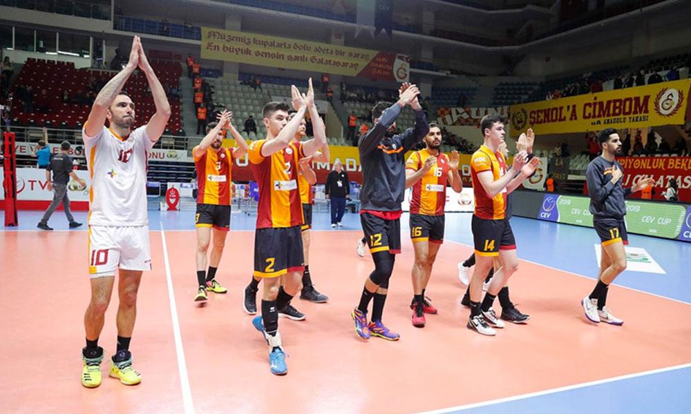 Galatasaray CEV Kupası finalinde mağlup