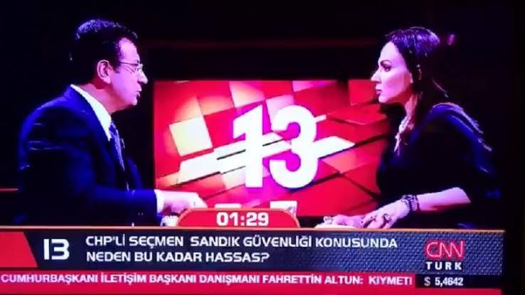 Ekrem İmamoğlu'ndan CNN Türk'te kesilen yayını için açıklama