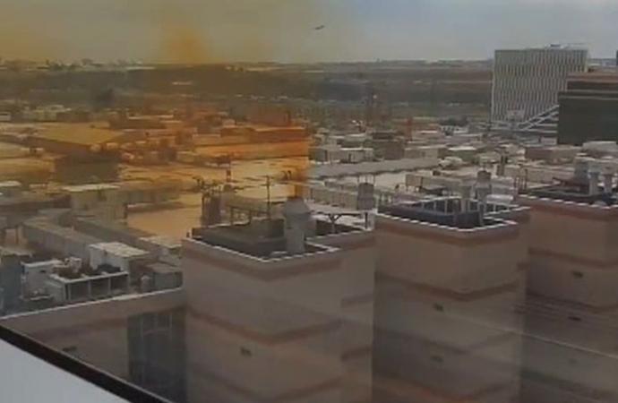 İstanbulluları tedirgin eden sarı dumanla ilgili açıklama