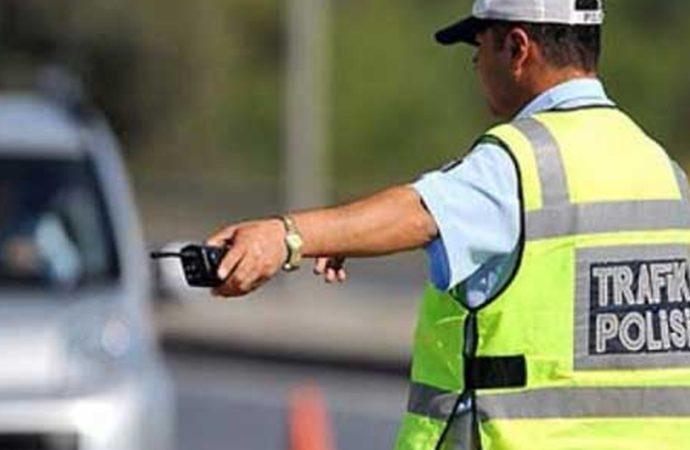 'Dur' ihtarına uymayan sürücüye 5 bin 217 TL ceza
