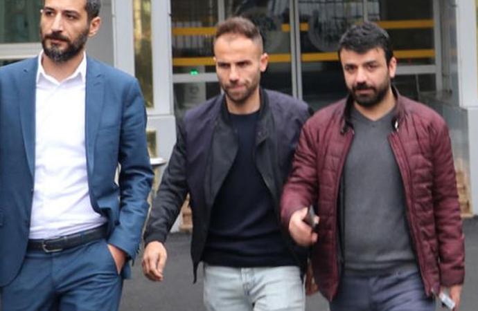 Mahkemeye sevk edilen Amed Sporlu futbolcu hakkında karar