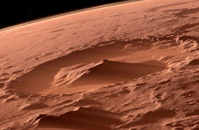 Bilim dünyası Mars'tan gelen fotoğrafı konuşuyor… 4 milyar yıllık nehir yatağı bulundu!