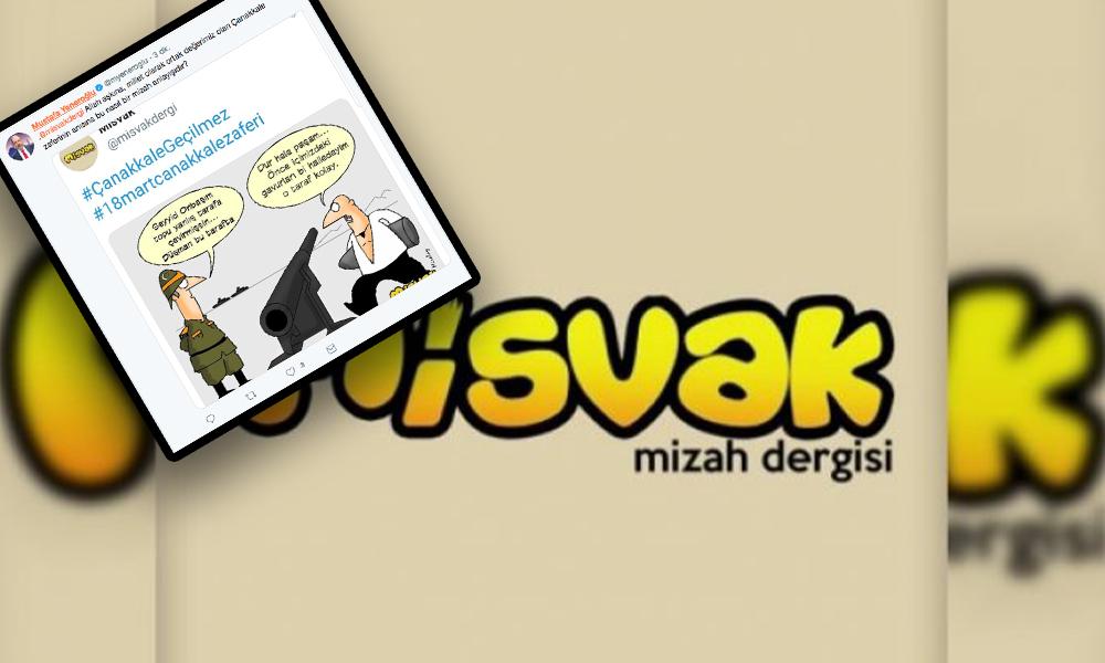 AKP'den gerici Misvak'ın skandal karikatürüne tepki