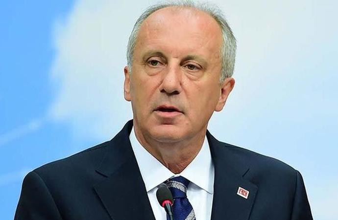 Muharrem İnce'den Erdoğan'a cevap: Saray'a buradan ekmek çıkmaz…