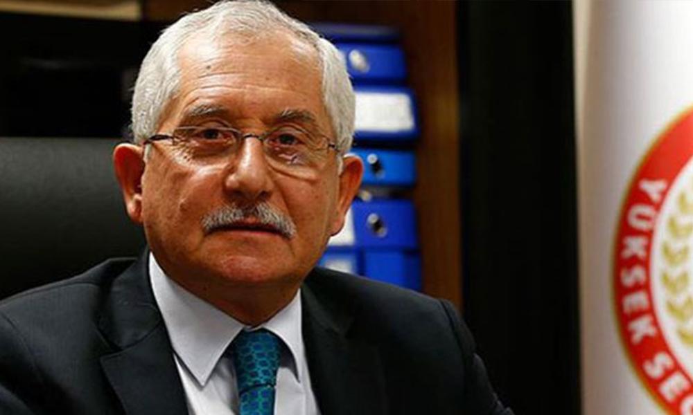 YSK Başkanı seçimde kaç kişinin oy kullanamayacağını açıkladı