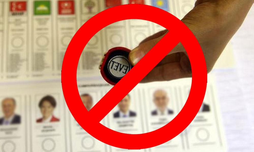 Seçim öncesi valilikten dikkat çeken yasak