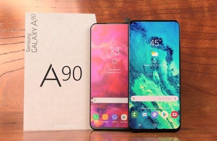 Şık tasarımlı Galaxy A90 geliyor
