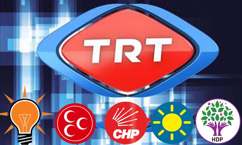 TRT ve özel kanallar AKP'nin sesi oldu