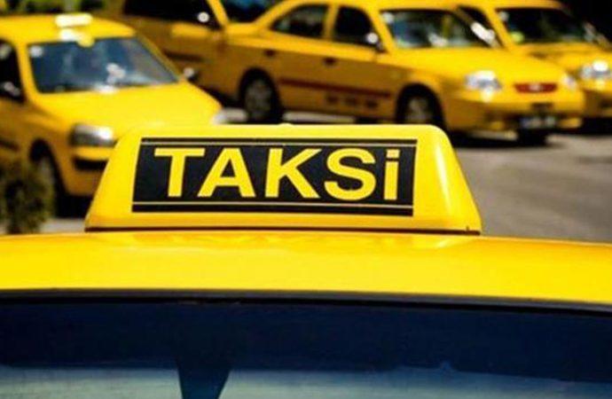 Aç geziyoruz diyen taksicilerin plakası 2 milyon lira!