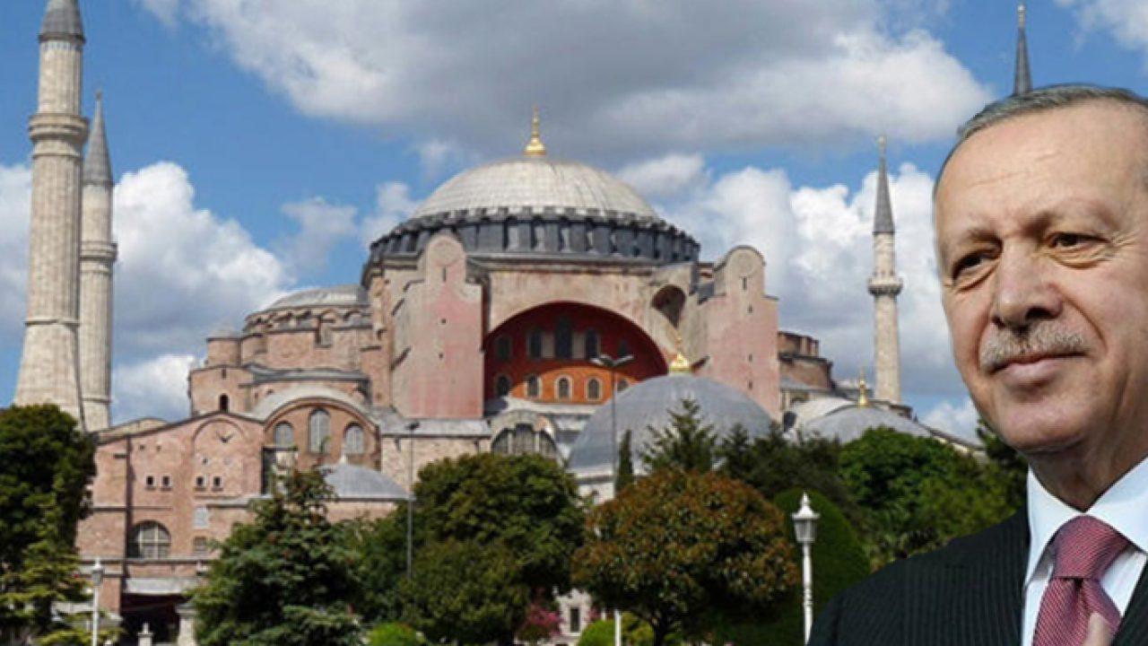 Erdoğan Ayasofya adı değişsin dedi, UNESCO'dan Yapamazsın' yanıtı ...