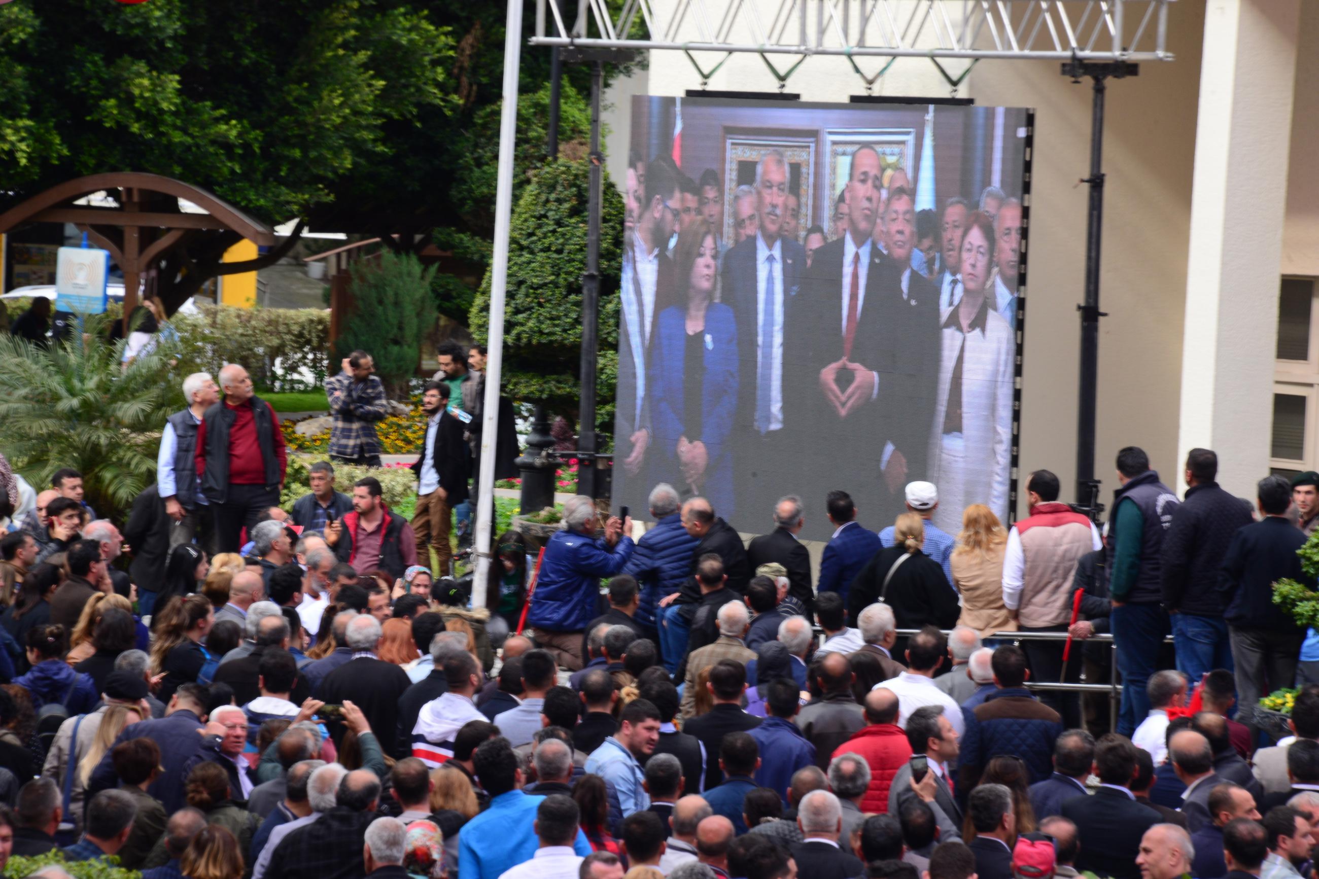 Adana'da CHP'li Karalar görevi devraldı