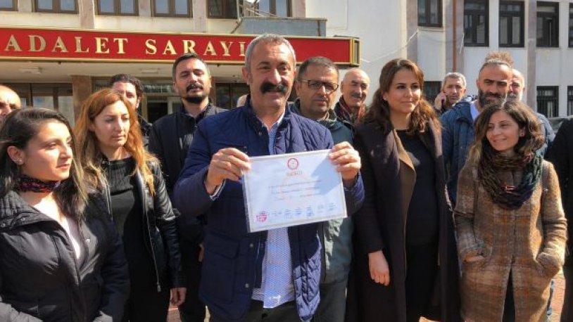Mazbatasını alan 'Komünist Başkan'dan Tunceli'ye ilk çağrı