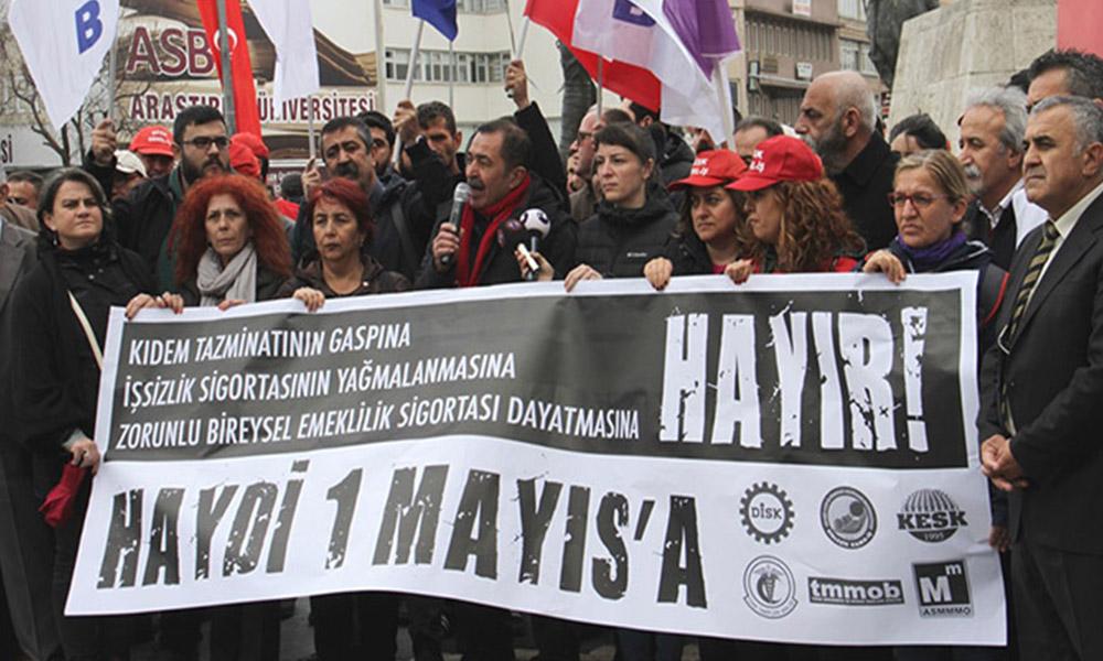 Ankara ve İzmir'de 1 Mayıs mitingi yerleri belli oldu