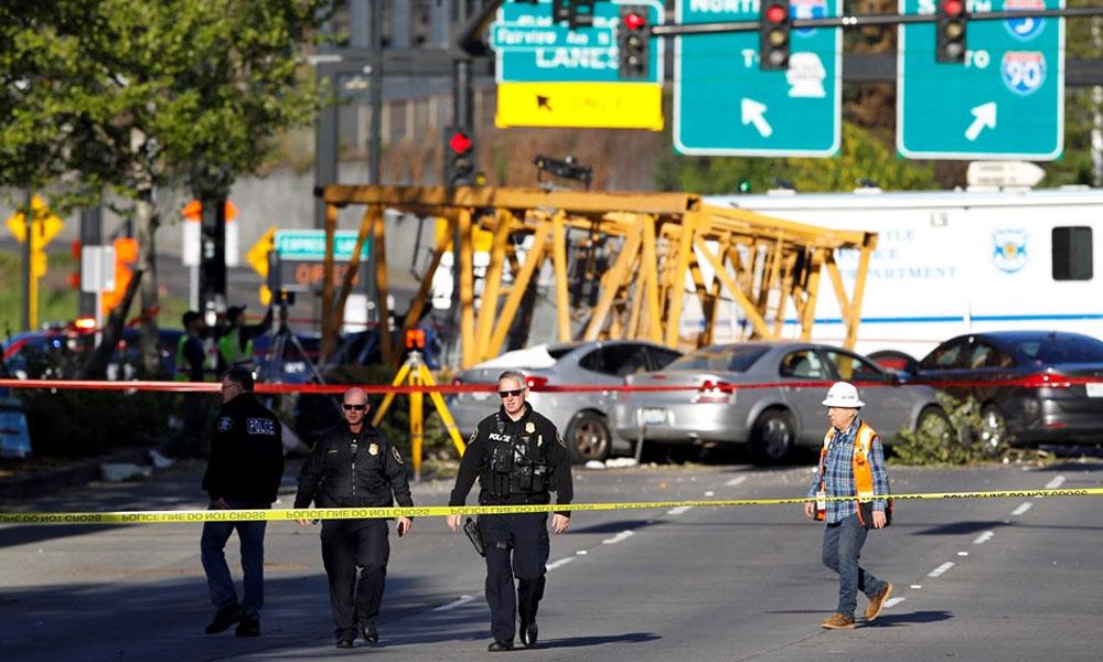 ABD'de vinç yola düştü… 4 kişi hayatını kaybetti!