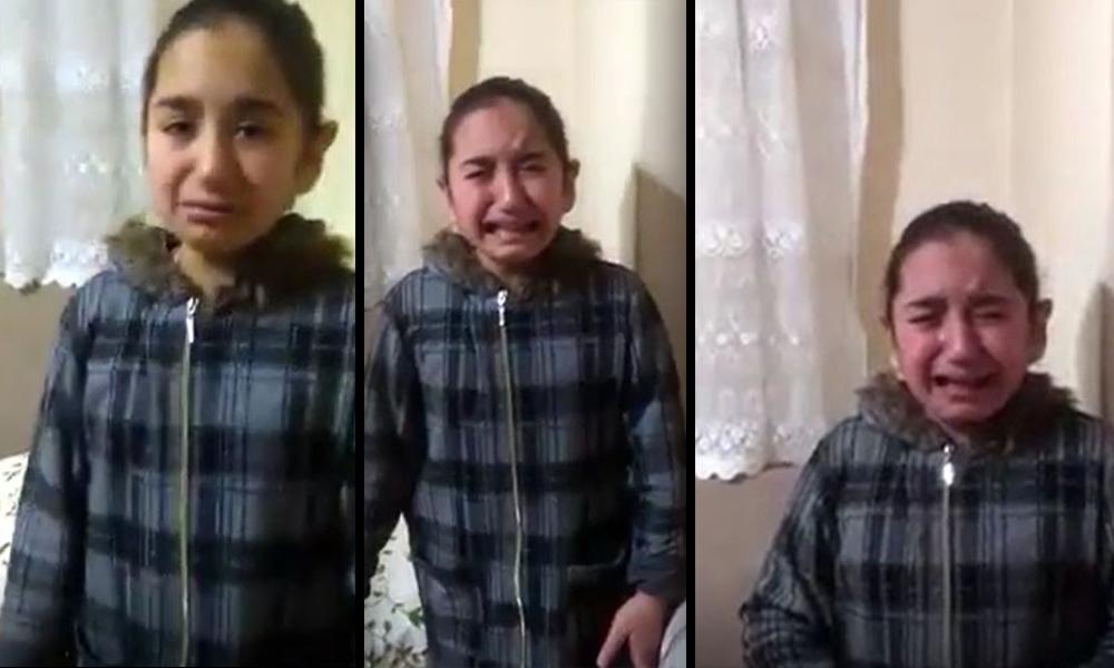 """""""CHP'liler kazandı"""" diye kızını ağlatan anne"""
