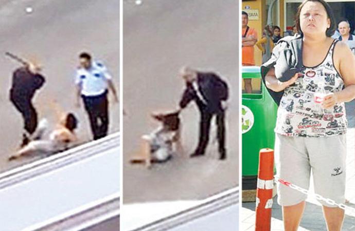 Akıl sağlığı yerinde olmayan kadına polis dayağının cezası belli oldu