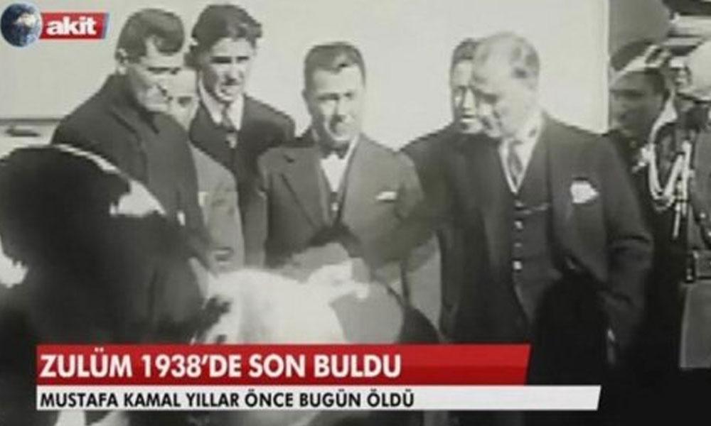 Akit'in Atatürk'e hakaret davasında beraat kararına itiraz