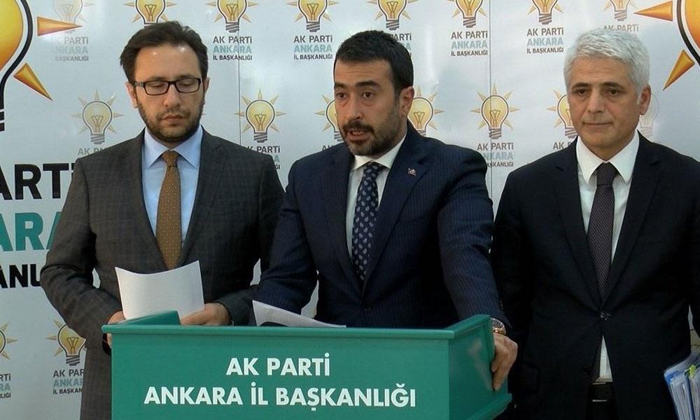 AKP, Ankara'da tüm sandıkların yeniden sayılması için başvurdu
