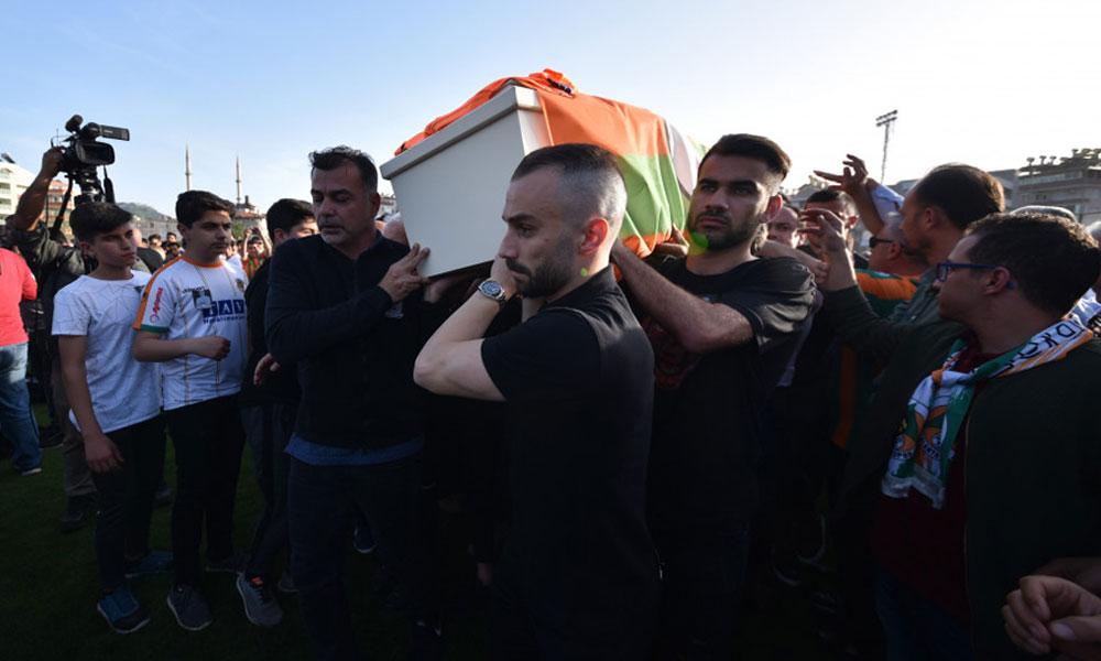 Alanyasporlu Josef Sural'a son veda! Takım arkadaşları gözyaşlarıyla uğurladı